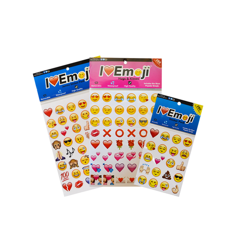Emoji Sticker Packs (Set 3)