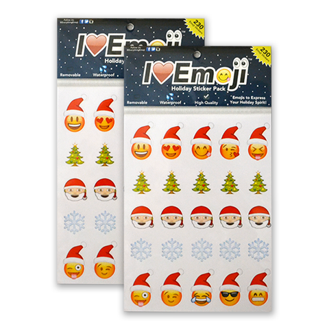 Holiday Emoji Sticker Pack - Everything Emoji - 230 Stickers