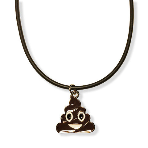 Poo - Poop Emoji Rope Necklace