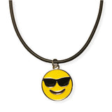 Sunglasses Emoji Rope Necklace