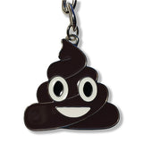 Emoji Poo Keychain | Pile of Poo Emoji | Emoticon Key Ring