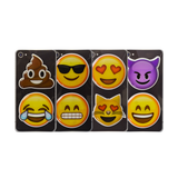 Puffy Emoji Stickers : Pile of Poo - Pile of Poop Emoji : Tears of Joy Emoji : Sunglasses Emoji : Grinning Emoji : Heart Eyes Emoji : Cat Eyes Emoji : Devil Horns Emoji : Smiling Face Emoji