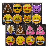Emoji Puffy Stickers (8 Pack)