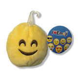"Emoji Yellow Smiling Face Mini Plush 3"": Soft and Cuddly Pillow"