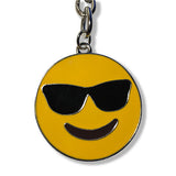 Emoji Keychain : Sunglasses Yellow Emoji Keychain : Everything Emoji
