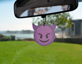 Emoji Purple Devil Air Freshener (3 Pack - Vanilla Scented)