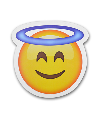 "8"" Emoji Halo Sticker"