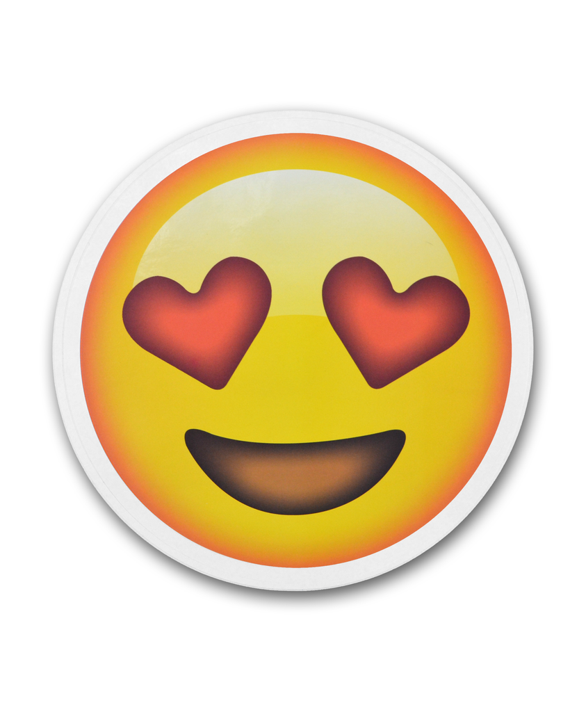 8 Quot Smiling Face With Heart Eyes Emoji Sticker