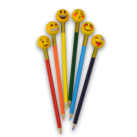 Emoji Pencil Eraser Toppers (Set #3)
