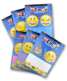 Emoji Sticky Notepads (Complete Set of 6)