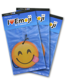 Emoji Side Tongue Air Freshener (3 Pack - Pine Scented)