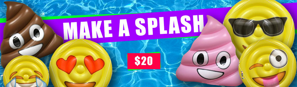Emoji Pool Floats Sale