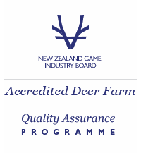 Accredited Deer Farm logo