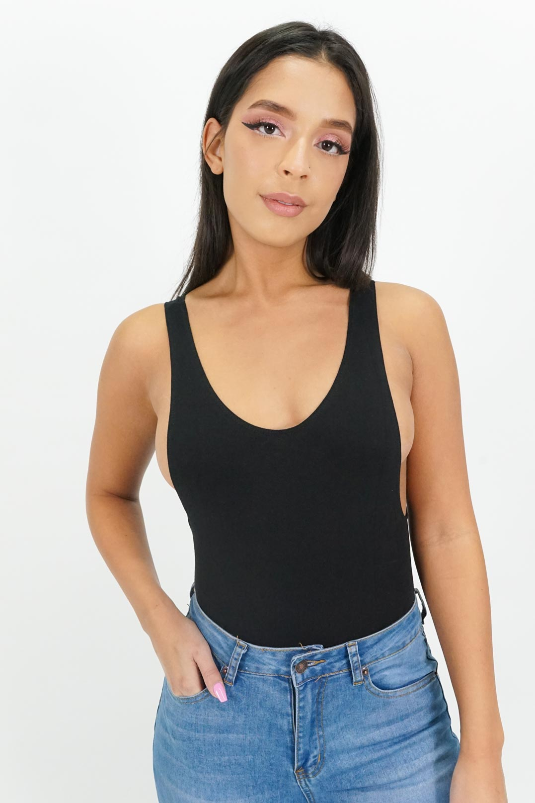 Simply Better Deep Side-Cut Bodysuit