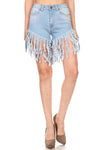 Hot Summer Vibes Denim Shorts