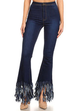 Can't Live Without Fringed Jeans