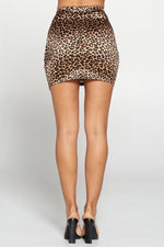 A Cheetah Girl Mini Skirt