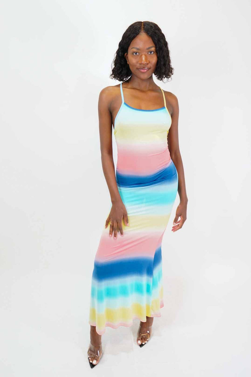 Beach Bar Maxi Dress