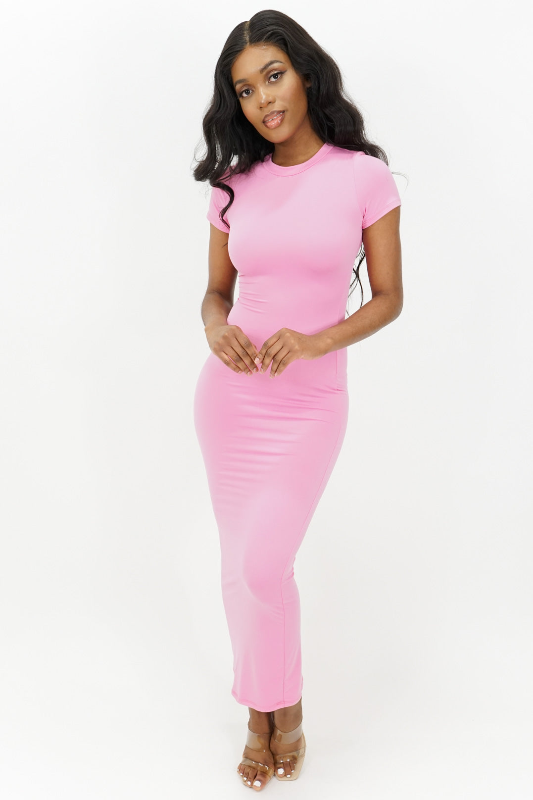 Smooth Sailing Bodycon Maxi Dress