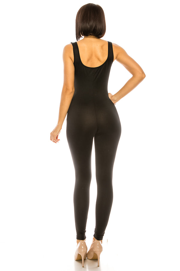 The Original Sleeveless Tight Fit Jumpsuit