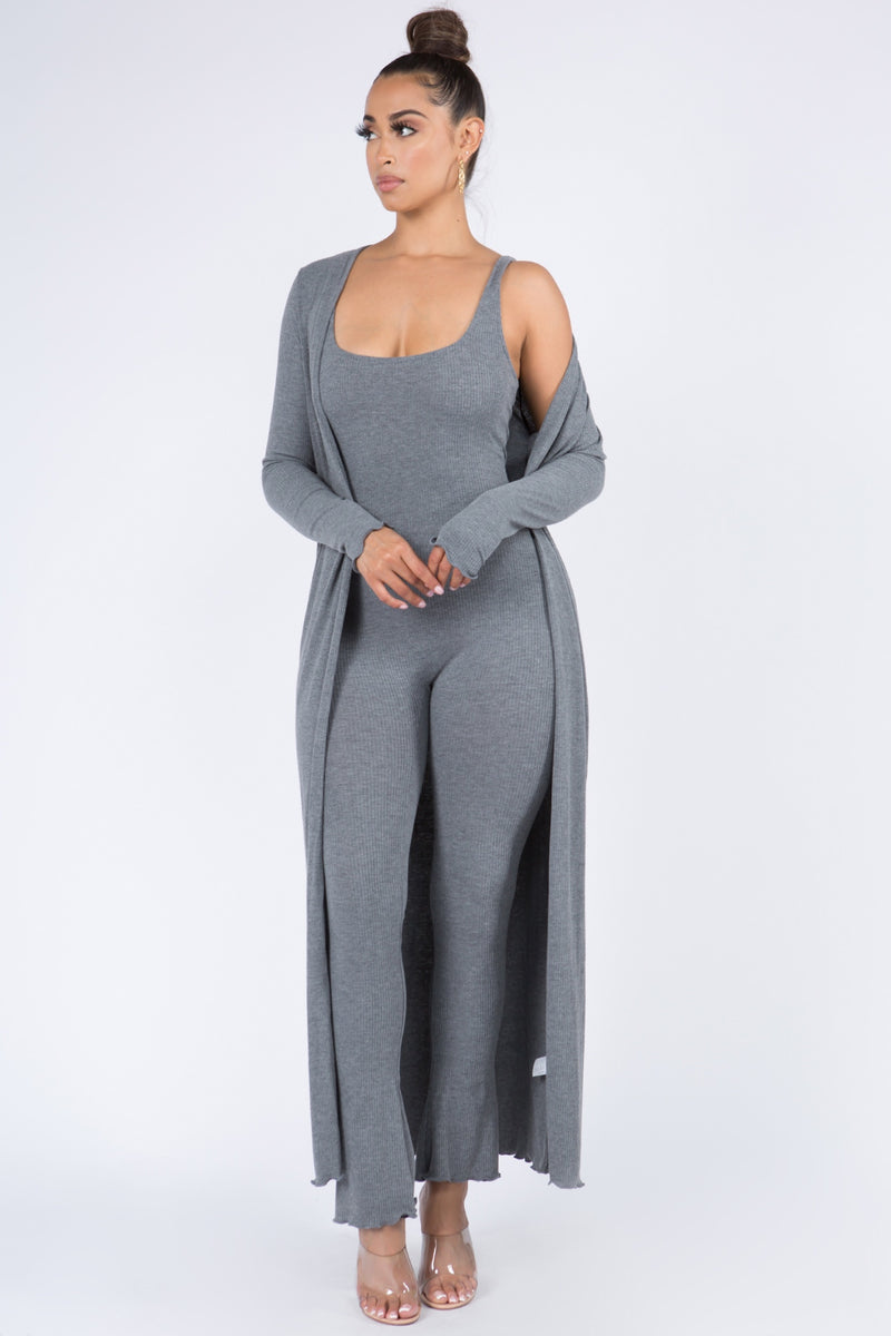 Ribbed Lady Jumpsuit