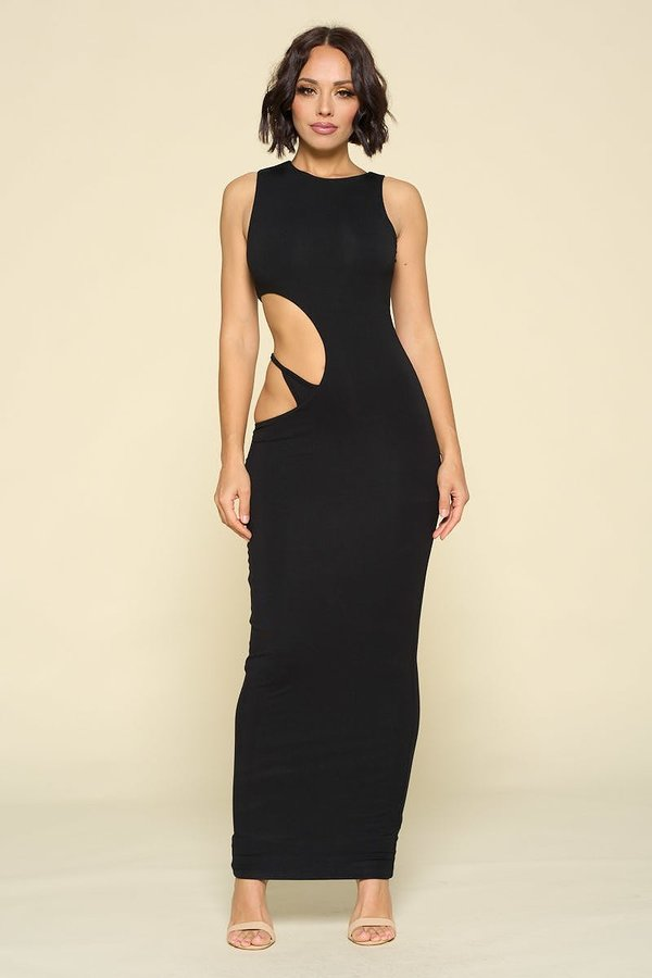 Had to be Done Cutout Bodycon Maxi Dress