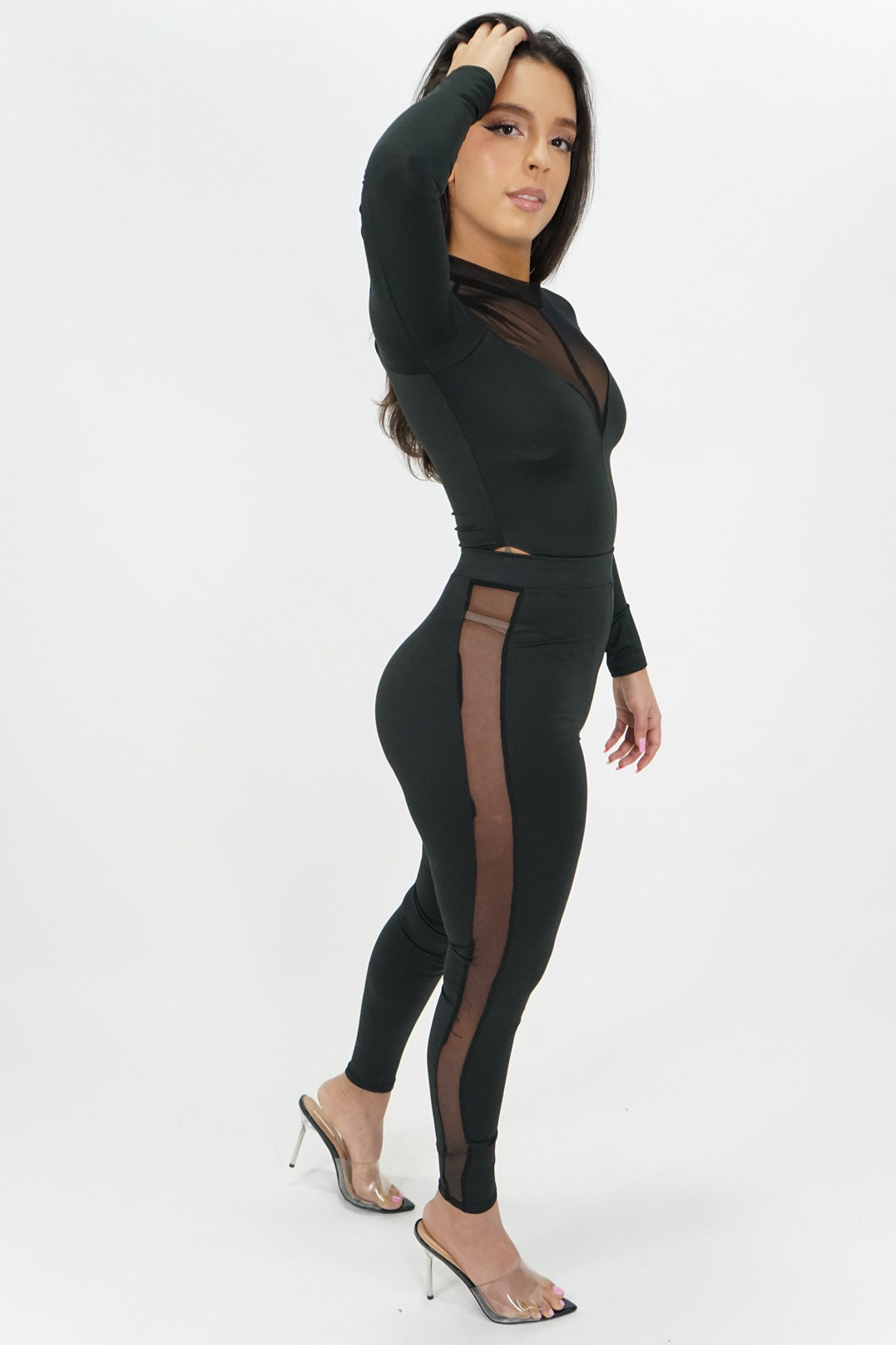 Eyes on Me Bodysuit + Leggings Set
