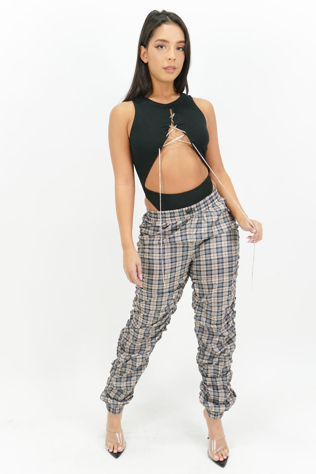 Pretty in Plaid Pants