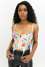 Flower Power Corset Top