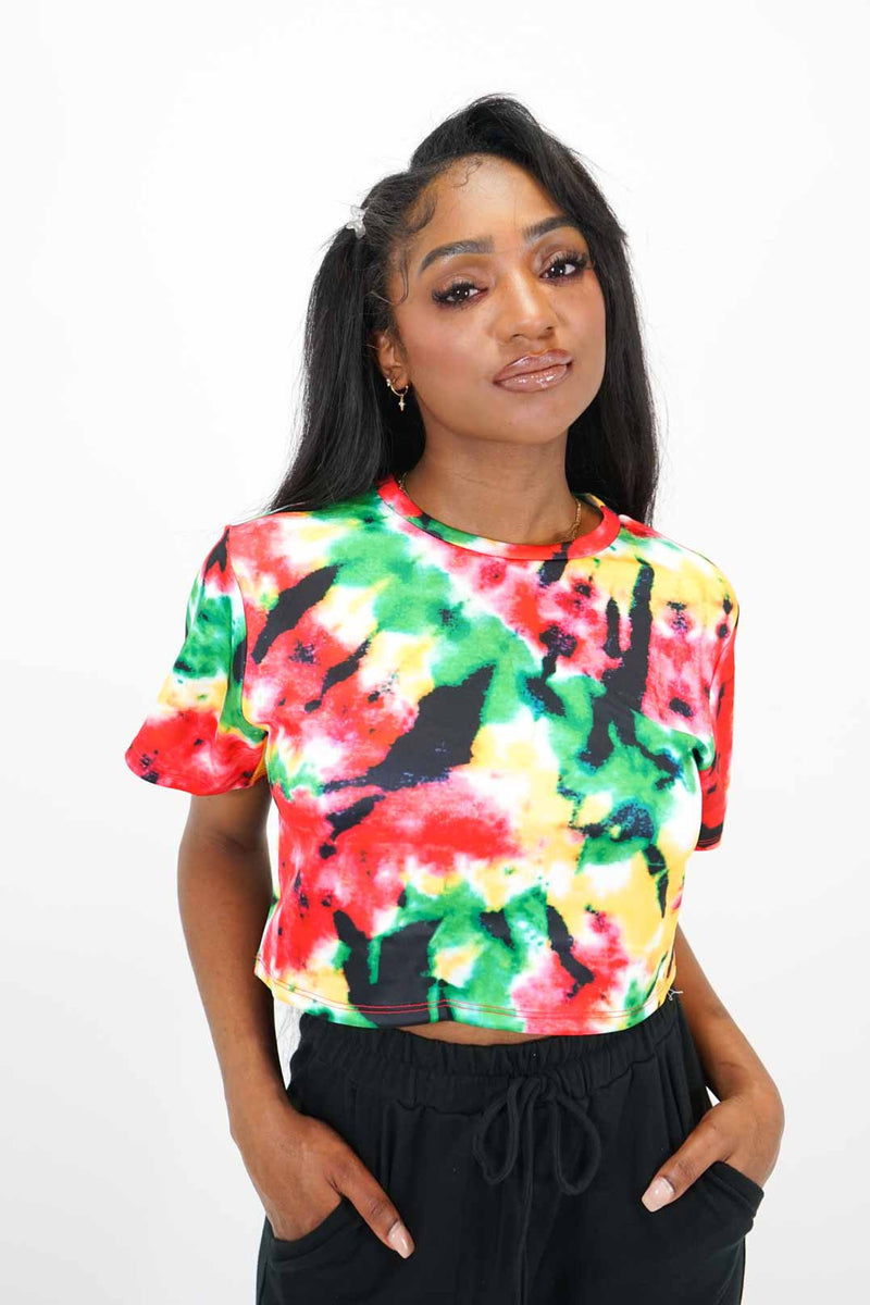 Dyed Jamaican Top