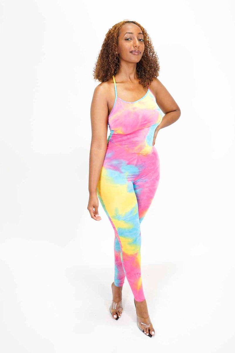 All Colored Up Jumpsuit