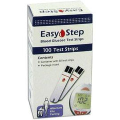 Easy Step Glucose Test Strips - 100 ct. - Total Diabetes Supply