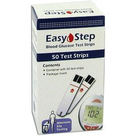 Easy Step Glucose Test strips - 50 ct. - Total Diabetes Supply