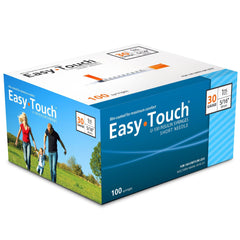 "EasyTouch Insulin Syringe - 30G 1CC 5/16"" - BX 100 - Total Diabetes Supply"