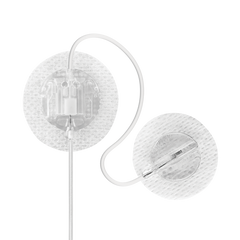 "TruSteel Infusion Set, 8 mm Cannula, 23"" Tubing, t:lock Connector, Clear - Box of 10"