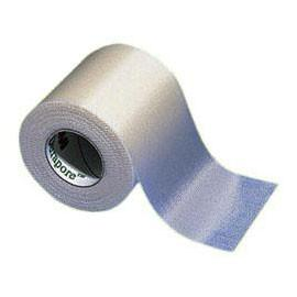 3M Durapore Tape 1/2in x 10yd White #15380 - Total Diabetes Supply