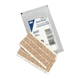 3M Steri Strip Flesh Tone 0.5in x 4in - Box of 50 1557 - Total Diabetes Supply