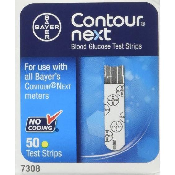 Bayer Contour Next Test Strips - 50ct - Total Diabetes Supply