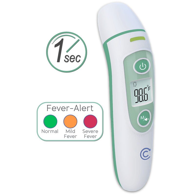 Clever Choice Duo Infrared Ear & Forehead Thermometer