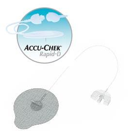 "Accu-Chek Disetronic Rapid D Infusion Sets - 8mm Cannula and 43"" (110cm) Tubing - 15/bx"