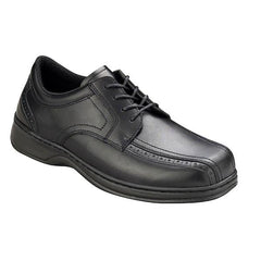 Gramercy Men's Dressy Oxford - Lace - Diabetic Shoes - Black