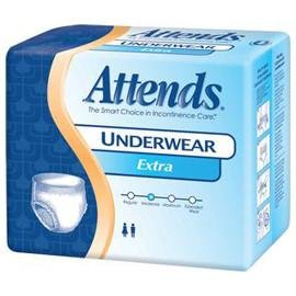 "Attends Underwear Extra Absorbent Medium 34""-44"" - One pkg of 25 each - Total Diabetes Supply"