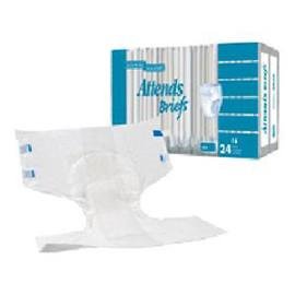 Attends Poly Briefs, Medium (32 to 44€?, 120-175 lbs) - One pkg of 24 each - Total Diabetes Supply