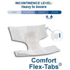 "Attends Breathable Briefs X-Large 58""-63"" - One pkg of 24 each - Total Diabetes Supply"