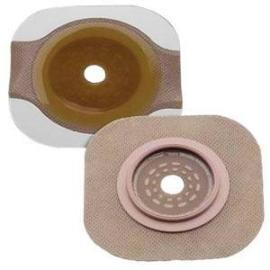 "Hollister New Image Cut-to-Fit Flat FlexWear Skin Barrier, 2-3/4"" Flange, Tape Border, Blue - Box of 5 - Total Diabetes Supply"