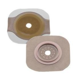 "Hollister New Image Cut-to-Fit Flextend Skin Barrier with 1-3/4"" Flange, Tape Border, Green - Box of 5 - Total Diabetes Supply"