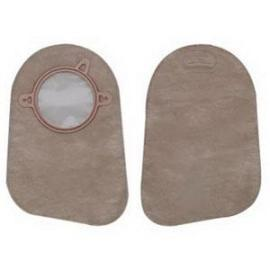 "Hollister New Image Two-Piece Closed-End Pouch, 2-1/4"" Flange, Filter, Two-Sided ComfortWear, Beige - Box of 60"