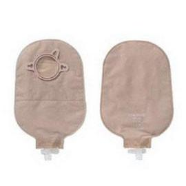 "Hollister New Image Two-Piece Urostomy Pouch, 2-3/4"" Flange, Two-Sided ComfortWear, Anti-Reflux, Beige - Box of 10 - Total Diabetes Supply"