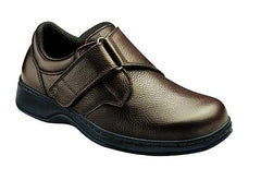 BROADWAY MEN'S COMFORT - VELCRO STRAP - Diabetic Shoes - Brown