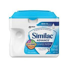 Abbott Nutrition Similac Advanced W/iron Pwdr, Retail 12.9Oz Can - Total Diabetes Supply